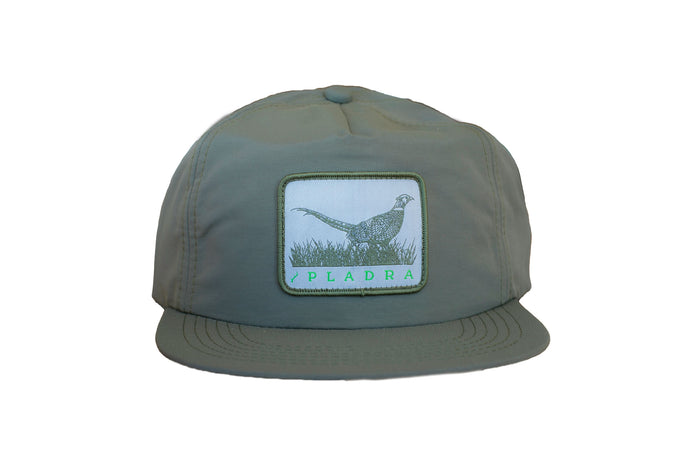 Green Nylon Pheasant Hat