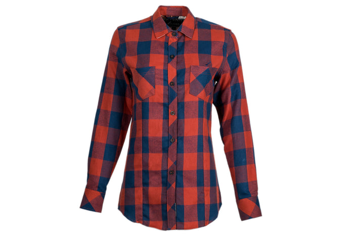 Women's Peregrine - Sockeye Red Flannel