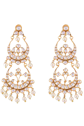 Two Tier Chandbali Earrings
