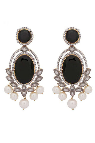 Black Leela Earrings