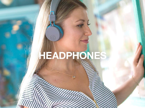 JLab offers on-ear and over-ear headphones: wireless and wired options along with kids headphones