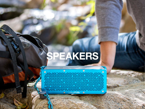 JLab offers speakers that are durable, waterproof and portable