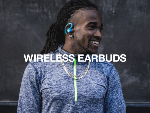 JLab Audio wireless earbuds feature long battery life and waterproof options