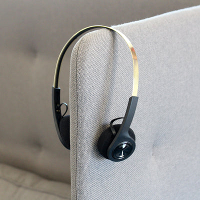 Rewind Icon Wireless Retro Headphones