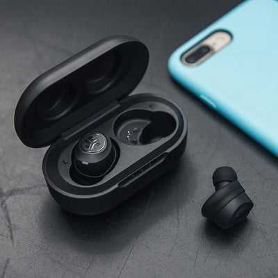JBuds Air True Wireless Earbuds and charging case