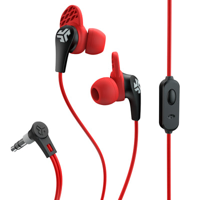 JBuds Pro Signature Earbuds in red