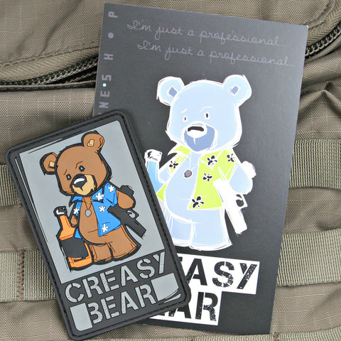 Creasy Bear Morale Patch
