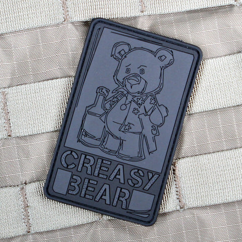 Creasy Bear Morale Patch blackout