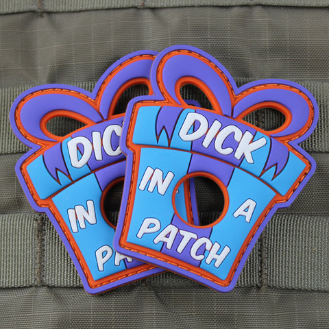 """Dick In A Patch"" Morale Patch"