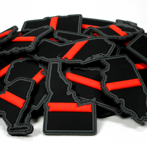 """Every State in Thin Red Line"" Patch Series"