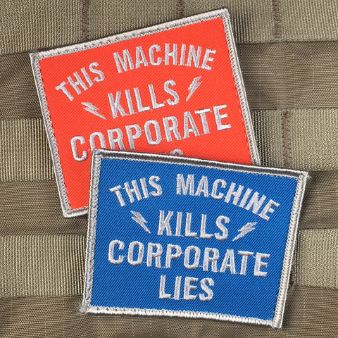"""Corporate Lies"" Morale Patch"