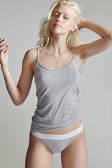 The Laurel Camisole / Heather Grey / Supima Jersey