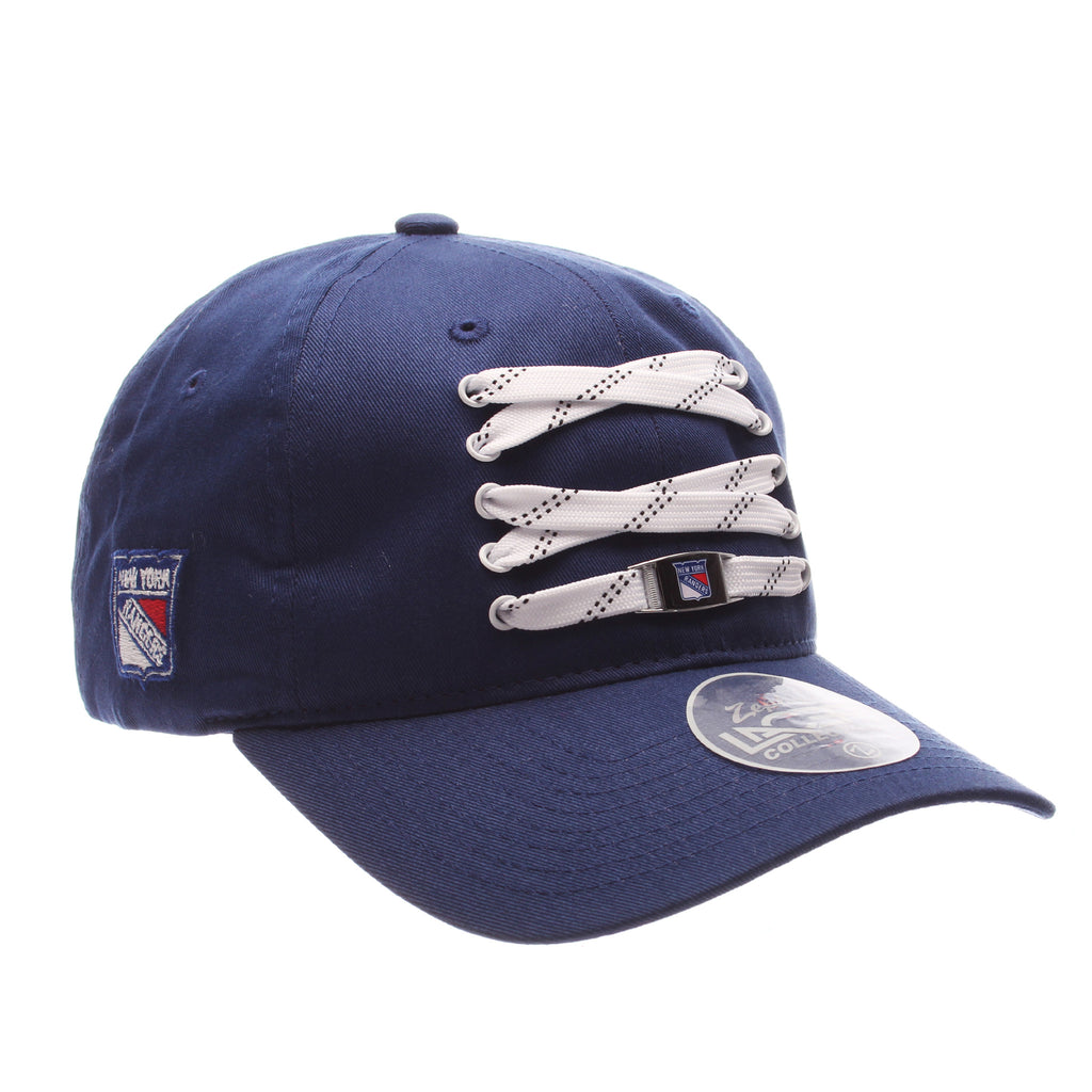 New York Rangers Royal Lacer Strapback