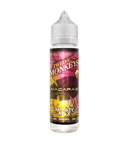 MacaRaz - Twelve Monkeys - 50ml Short Fill