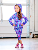 GIRLS 2-6 PERFECTLY PINEAPPLE CAPRI LEGGING