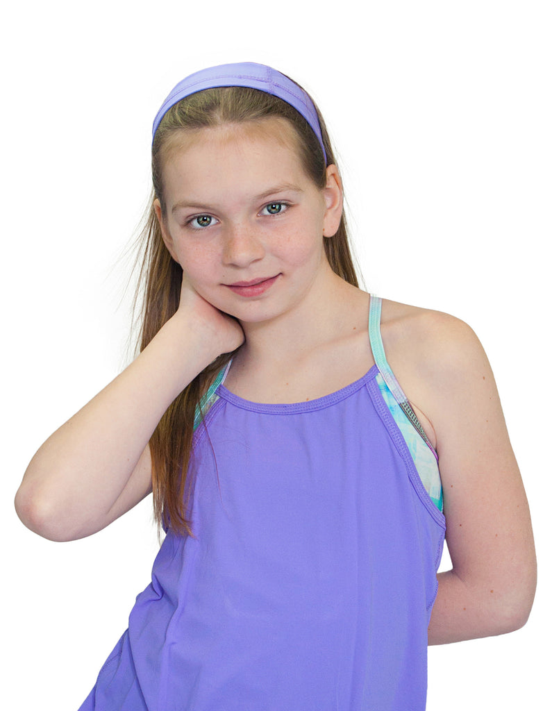 GIRLS PURPLE HEADBAND