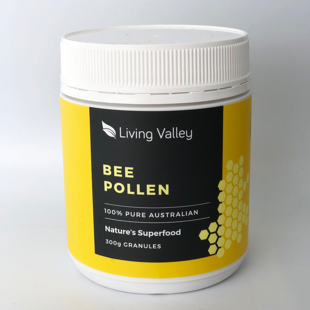 Living Valley 100% Australian Chemical Free Bee Pollen