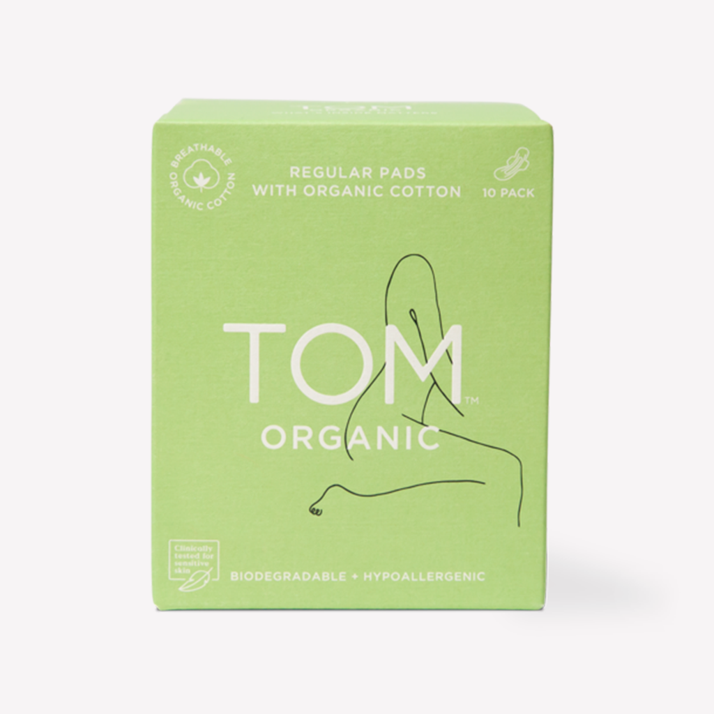 Tom Organics - Regular Pads With Organic Cotton