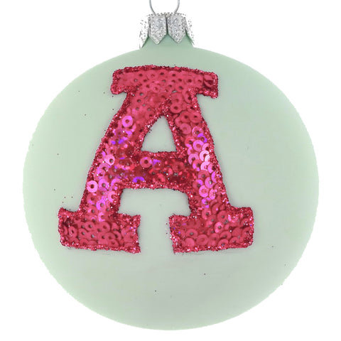 Letter 'A' bauble