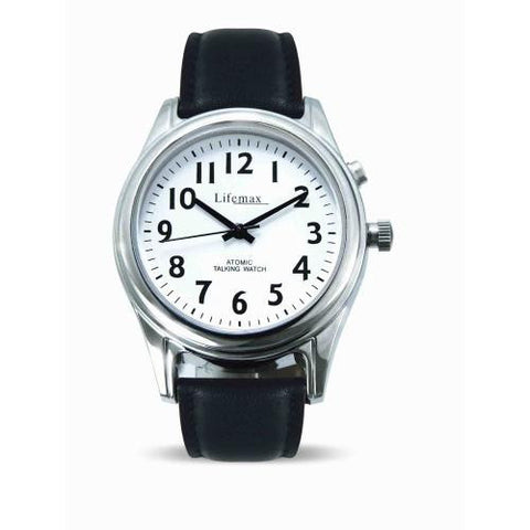 Picture of Atomic Talking Watch (Ladies, leather strap)
