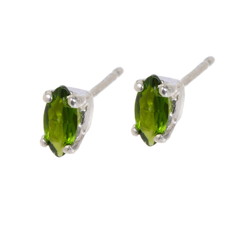 REAGAN CHROME DIOPSIDE EARRINGS