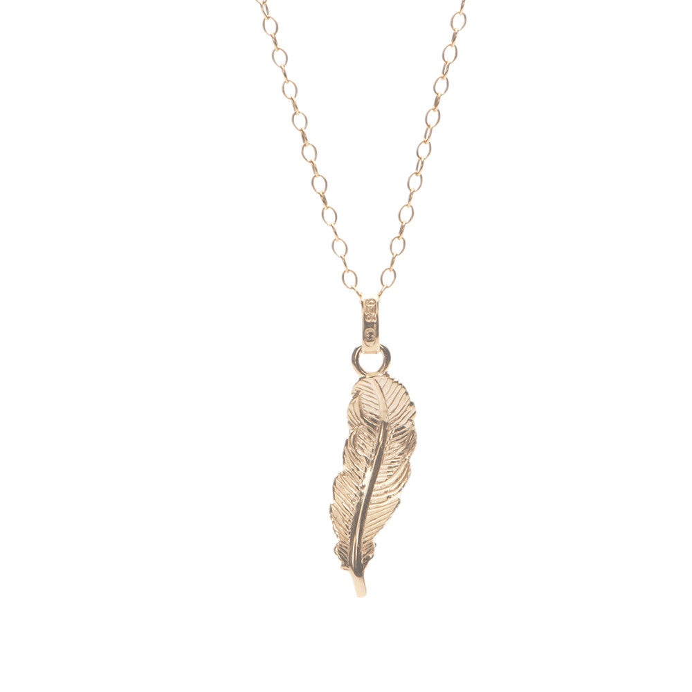 Mini Feather Charm