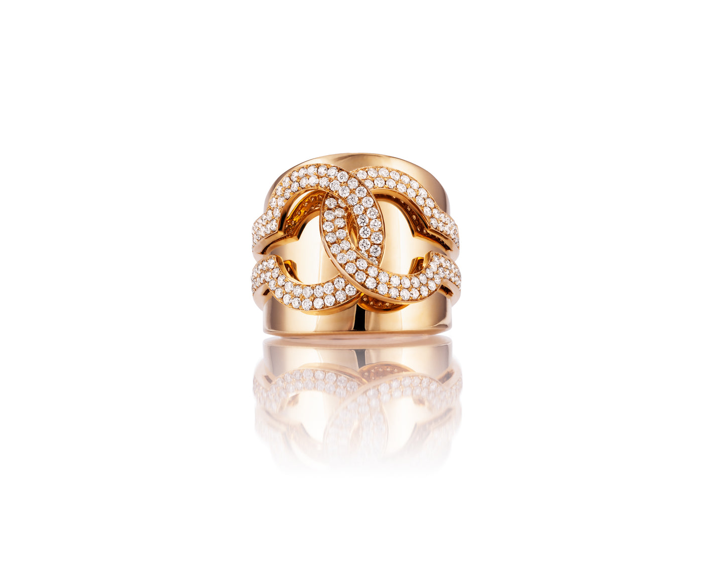 18kt Yellow Gold, 1.2ct Diamond Ring