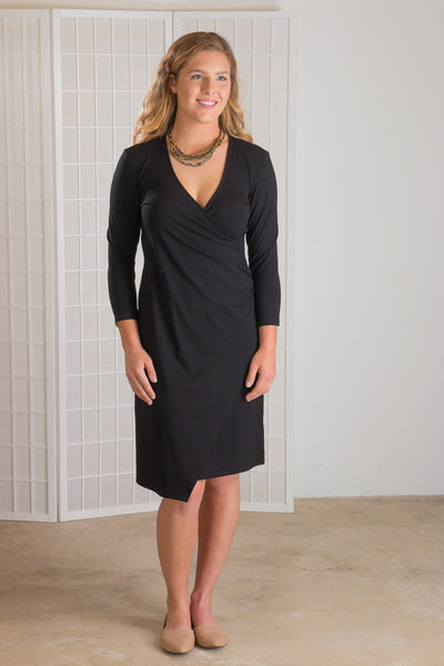 Habitat Mock Wrap Dress (Essential)