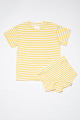 Luca Top - Yellow Stripe