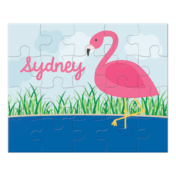 Flamingo Personalized Puzzle