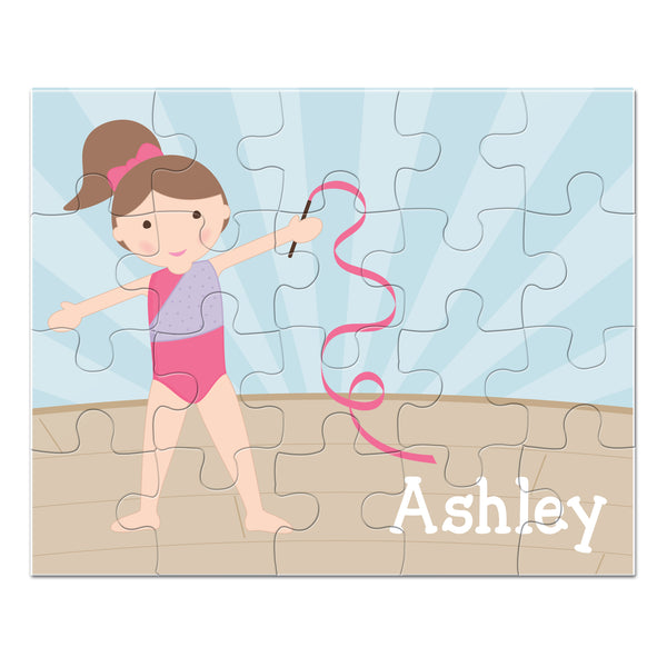 Gymnast Personalized Puzzle