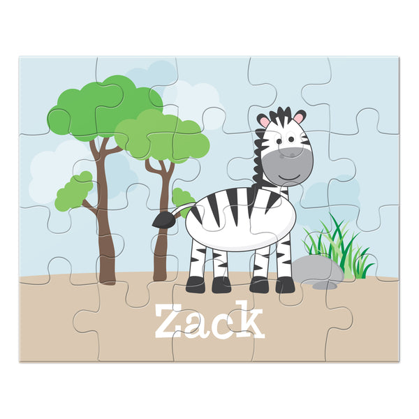 Zebra Personalized Puzzle