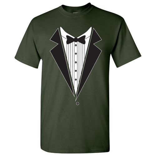 Tuxedo Shirt - Funny Party T-Shirt - Forest