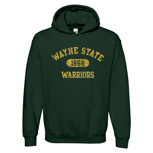 Wayne State Athletic Arch Hoodie - Forest