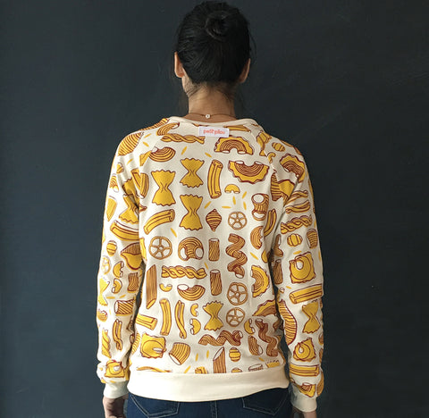 Pasta sweatshirt adult sizes