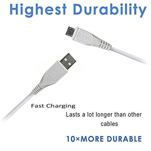 Micro USB Fast Charging Sync Cable, Speed Upto 2.4 Amp - diabazaar.com