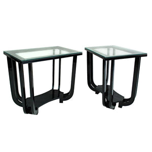 pair of Paul Frankl side tables