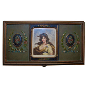 1920 Jewelry Box Signed by Hugh. H. Banner