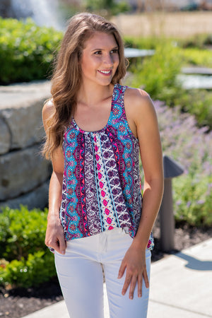 Future Is Bright Sleeveless Top : Multi