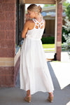 More Than Special Flowy Maxi Dress : Ivory