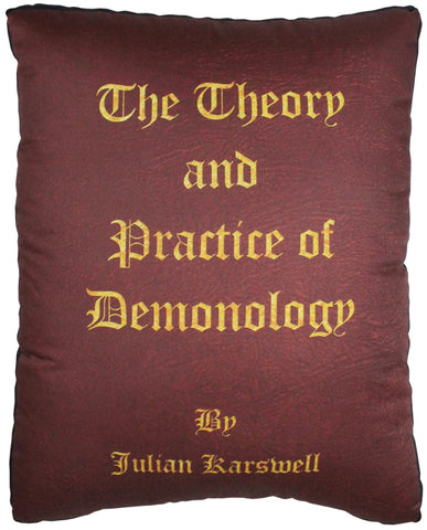 The Theory And Practice Of Demonology Pillow