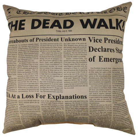 The Dead Walk Pillow