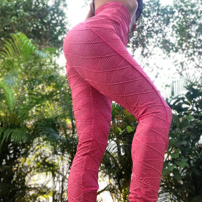 Push Up in Boho Texture Pink - ABS2B FITNESS APPAREL