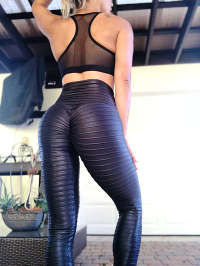 Leather Kitty Kat (opaque and wet look) - ABS2B FITNESS APPAREL
