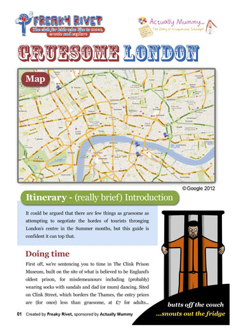 Gruesome London Family Day Out