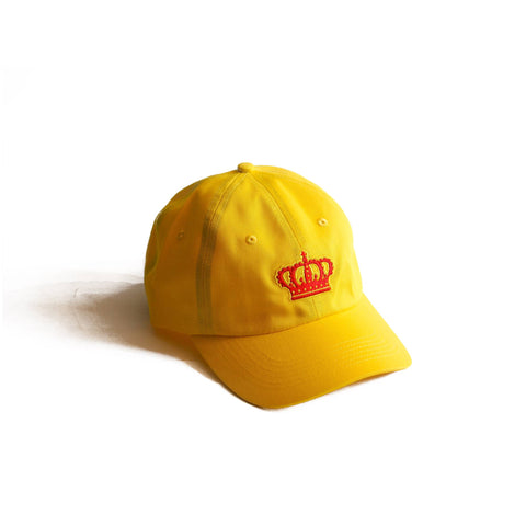 Crown Dad Hat Yellow
