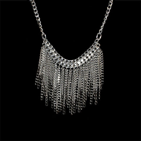 Sophisticated Fringe Necklace - TRacy by Tracy Belben