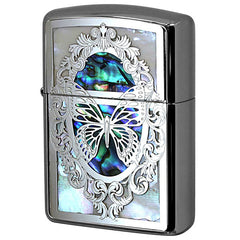 Armor Zippo Lighter Combi Shell Butterfly Both Sides Design B NF