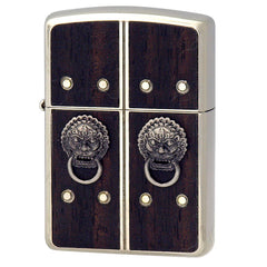 Armor Zippo Lighter Gate of Happiness Kannon Metal Luxury Design NO