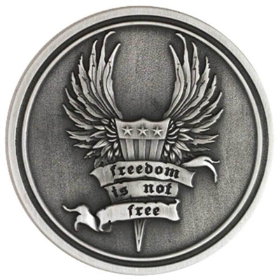 Freedom Is not Free/ B&S Challenge Coin 8003135